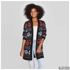 Long Sleeve Cardigan Floral Print Knox Rose Medium